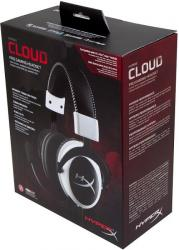 auriculares kingston hyperx cloud blanco