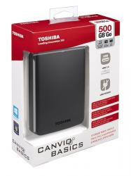 toshiba canvio basics 2.5'' 500gb usb 3.0