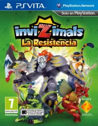 invizimals: the resistance ps vita