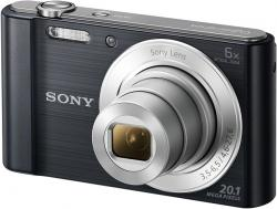 sony cyber-shot dsc-w810 20.1mp negra