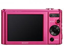 sony cyber-shot dsc-w810 20.1mp rosa