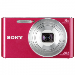 sony cyber-shot dsc-w830 20.1mp rosa