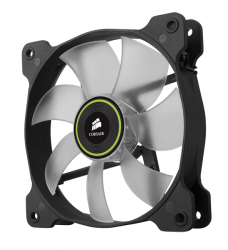 corsair air series sp140 140x140mm led verde