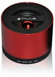 altavoz talius bluetooth sp09 rojo