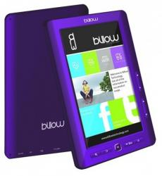 ebook billow e2t color 7'' 4gb púrpura