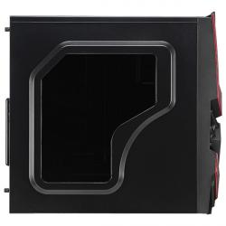 aerocool cyclops advance negra/roja