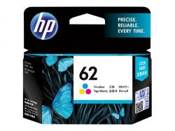 tinta pack tricolor hp 62