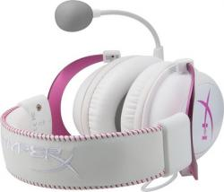 auriculares kingston hyperx cloud ii rosa