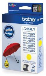 tinta brother amarilla lc225xly