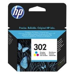 tinta color hp 302