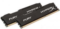 kingston hyperx fury black ddr3 1600mhz 16gb 2x8gb cl10