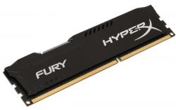 kingston hyperx fury black ddr3 1600mhz 8gb cl10
