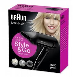 braun satin hair hd350 secador 1600w