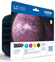 pack tintas brother lc1220 4 colores