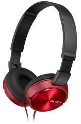 auriculares sony mdr-zx310r rojo