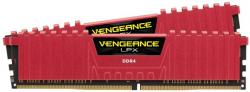 corsair vengeance lpx rojo ddr4 2400mhz 16gb 2x8gb cl14