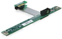 delock riser card pcie express x1 flexible 7cm