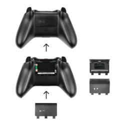 base de carga trust gxt 247 duo charging xbox one