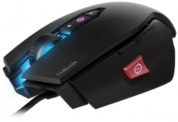 corsair m65 pro rgb fps gaming negro