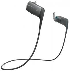 auriculares sony mdr-as600bt negro