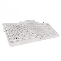 teclado cherry jk-a0100es lector chip integrado (dnie) blanco