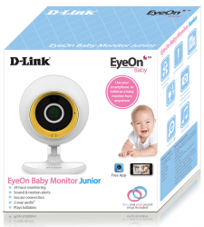 d-link dcs-800l eyeon baby monitor junior