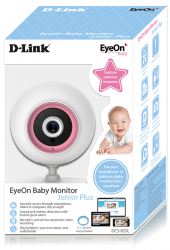 d-link dcs-820l eyeon baby monitor junior plus