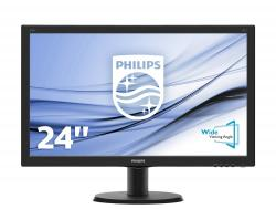 monitor 24 philips v-line 240v5qdsb