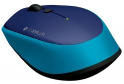logitech wireless mouse m335 azul