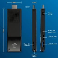 intel compute stick x5-z8300 2gb 32gb w10