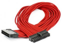 cable phanteks 24pin atx 50cm rojo