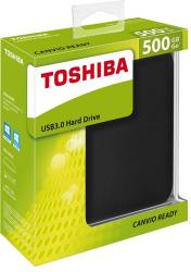 toshiba canvio ready 2.5'' 500gb usb 3.0 negro