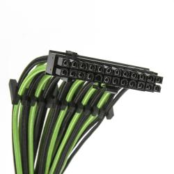 bitfenix alchemy 2.0 psu cable kit evg-series negro/verde