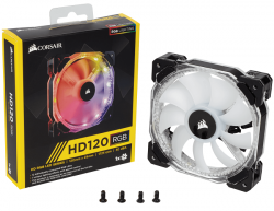 corsair hd120 rgb led 120mm