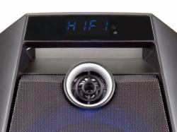 altavoz conceptronic bluetooth disco speaker negro