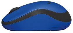 logitech wireless mouse m220 silent azul