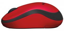logitech wireless mouse m220 silent rojo