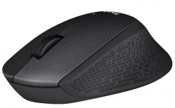 logitech wireless mouse m330 silent plus negro