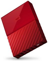 wd my passport 2.5'' 2tb usb 3.0 rojo