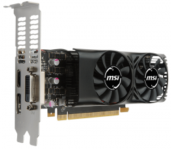 msi geforce gtx 1050 2gt lp 2gb gddr5