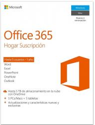 microsoft office 365 home 5l/1a