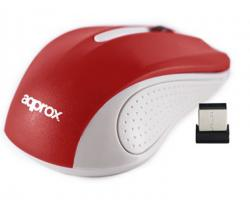approx optical mouse wireless v2 rojo
