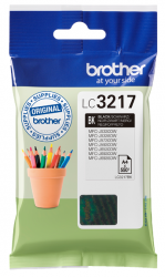 tinta brother negra lc3217bk