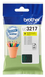 tinta brother amarilla lc3217y