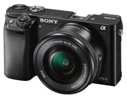 sony alpha 6000 kit negra + sel-p 16-50