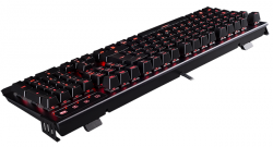 teclado hiditec gk500 cherry mx red