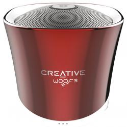creative labs woof 3 bluetooth rojo