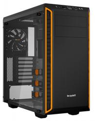 be quiet pure base 600 naranja ventana