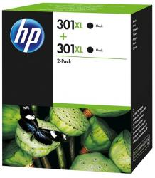 tinta pack negra hp 301xl