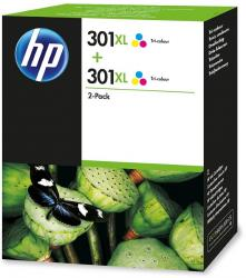 tinta pack tricolor hp 301xl